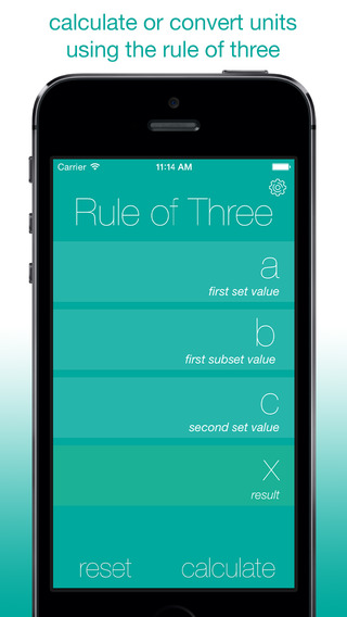 3 Rule of Three Calculator