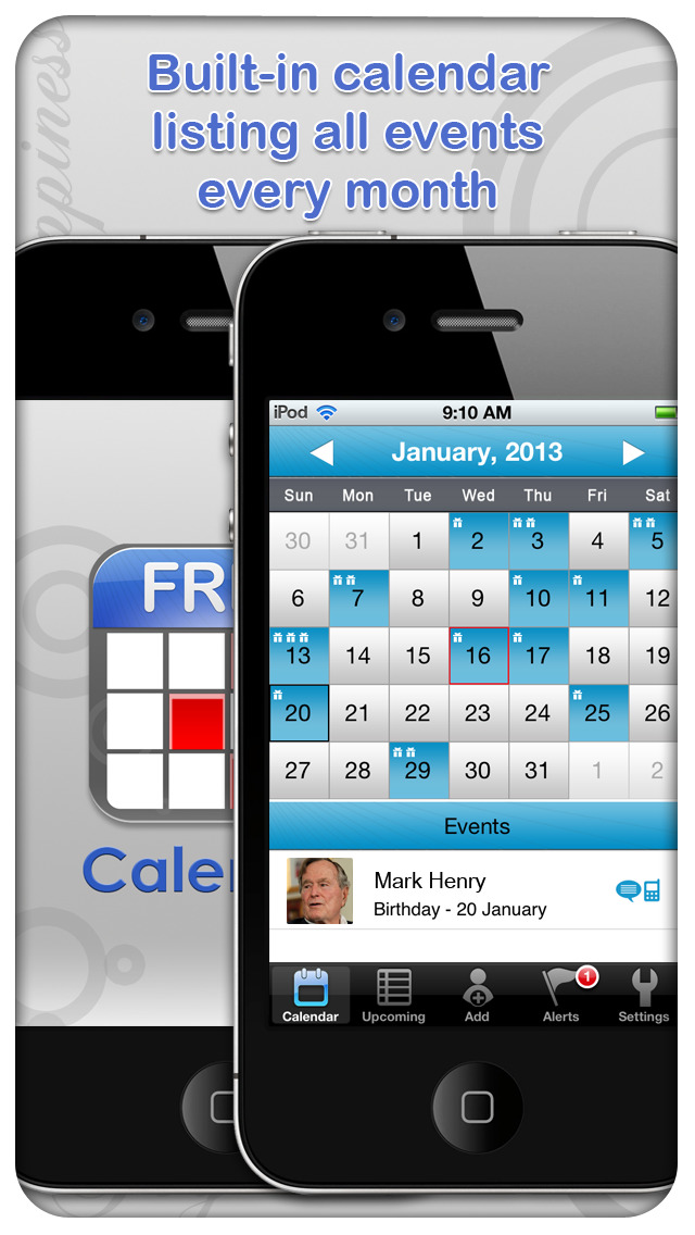how to add birthdays to iphone calendar