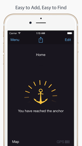 Anchor Pointer — парковка машины и GPS компас Screenshot