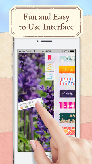 Labelbox - Spice up photos with beautiful labels and stamps
