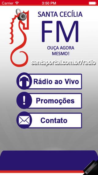 Rádio Santa Cecília 107 7 FM