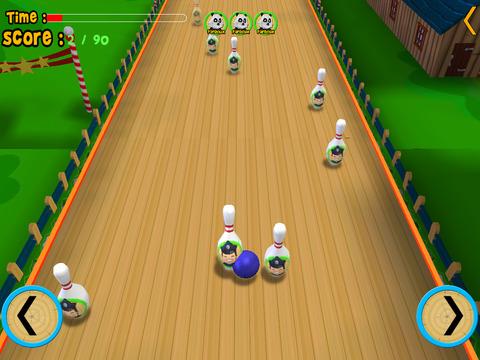 jungle animals bowling for kids iPad Screenshot 4