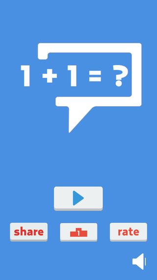Easy Math: 1 + 1 =