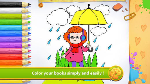 Weather - Living Coloring
