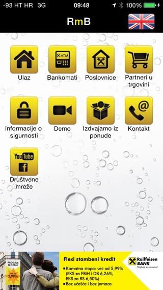 Raiffeisen mobilno bankarstvo