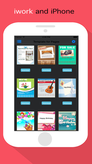 Template Set for Keynote Pages