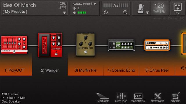 ToneStack Screenshot