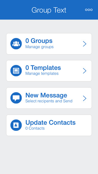 Group SMS pro - Send quick sms text iMessages photos templates and Messages in to group recipients