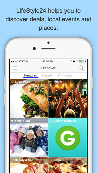 LifeStyle24 - Deals Coupons Events Places and Restaurants
