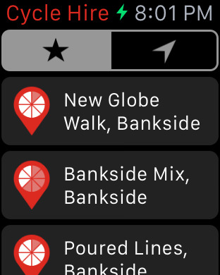 Cycle Hire iPhone Screenshot 6