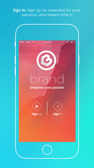 Brand - Be Rewarded for your Passion