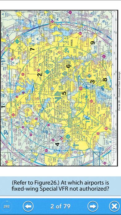 Pilot Test - Recreational Pilot Airplane (RPA) Lite iPhone Screenshot 2