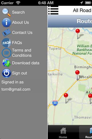 All Road Trips screenshot 2