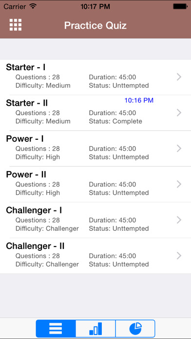 6 GRE Practice Tests (Math) iPhone Screenshot 2
