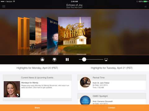 KNVBC Radio for iPad iPad Screenshot 1
