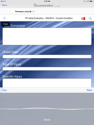 TheraOffice™ Documentation