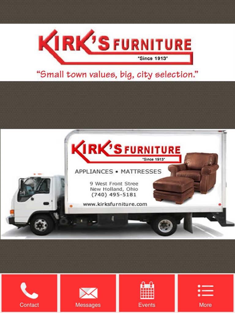App shopper kirk 39 s furniture business Furniture app