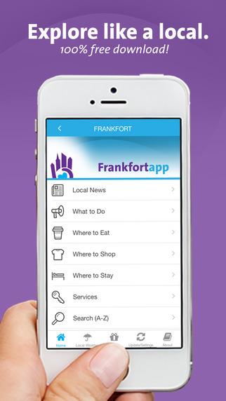 Frankfort App - Kentucky - Local Business Travel Guide
