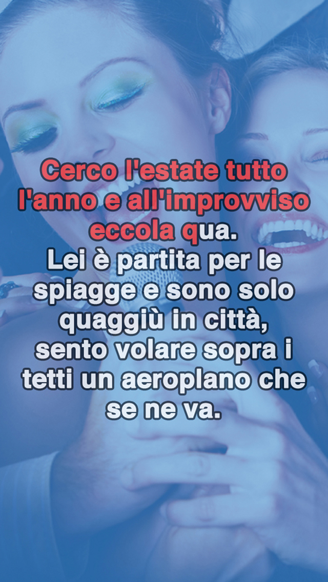 App shopper my karaoke oltre canzoni italiane