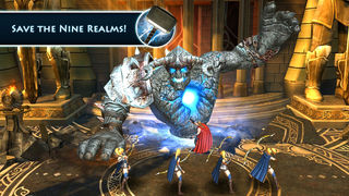 Screenshots of Thor: The Dark World - The Official Game for iPhone