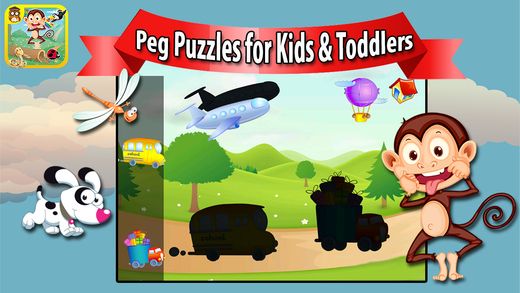 Peg Puzzles for Babies Preschool Toddlers
