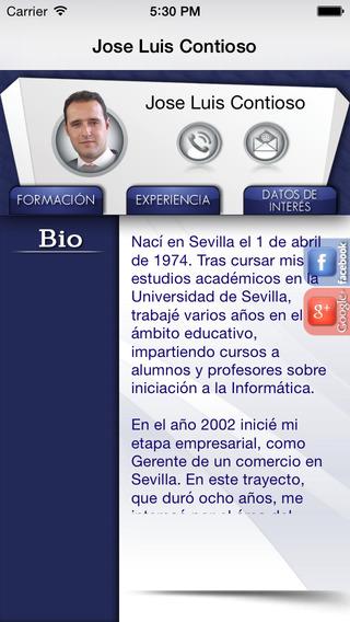 Jose Luis Contioso CV