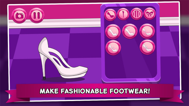 Shoe Designer Salon CROWN