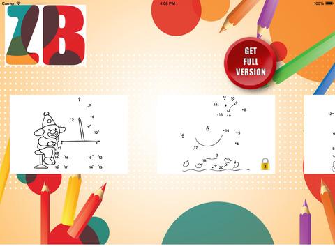 Раскраска, рисование по точкам для детей