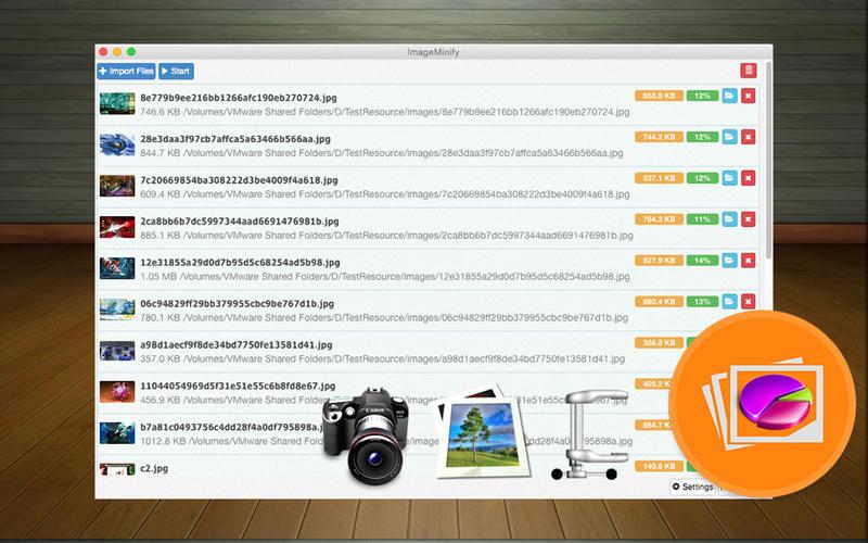 ImageMinify Screenshot - 1