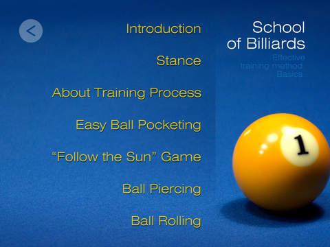 Billiard School iPad Screenshot 4