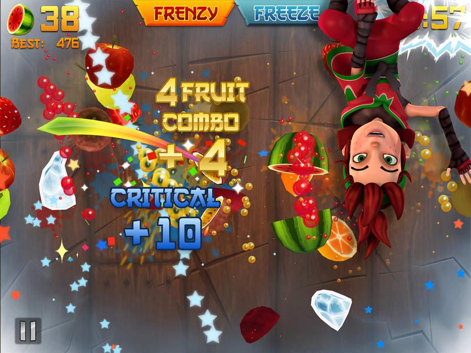Fruit Ninja - iPhone Mobile Analytics and App Store Data