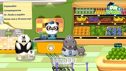 Супермаркет Dr. Panda Screenshot