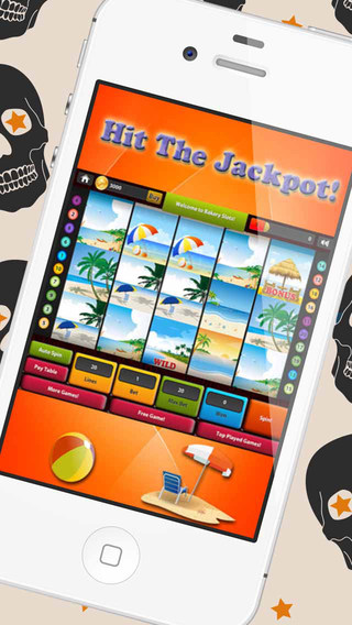 Vegas Beach Slots HD- Gamble and Play in The Worlds Famous Sin City: Win the Casino Jackpot Prize