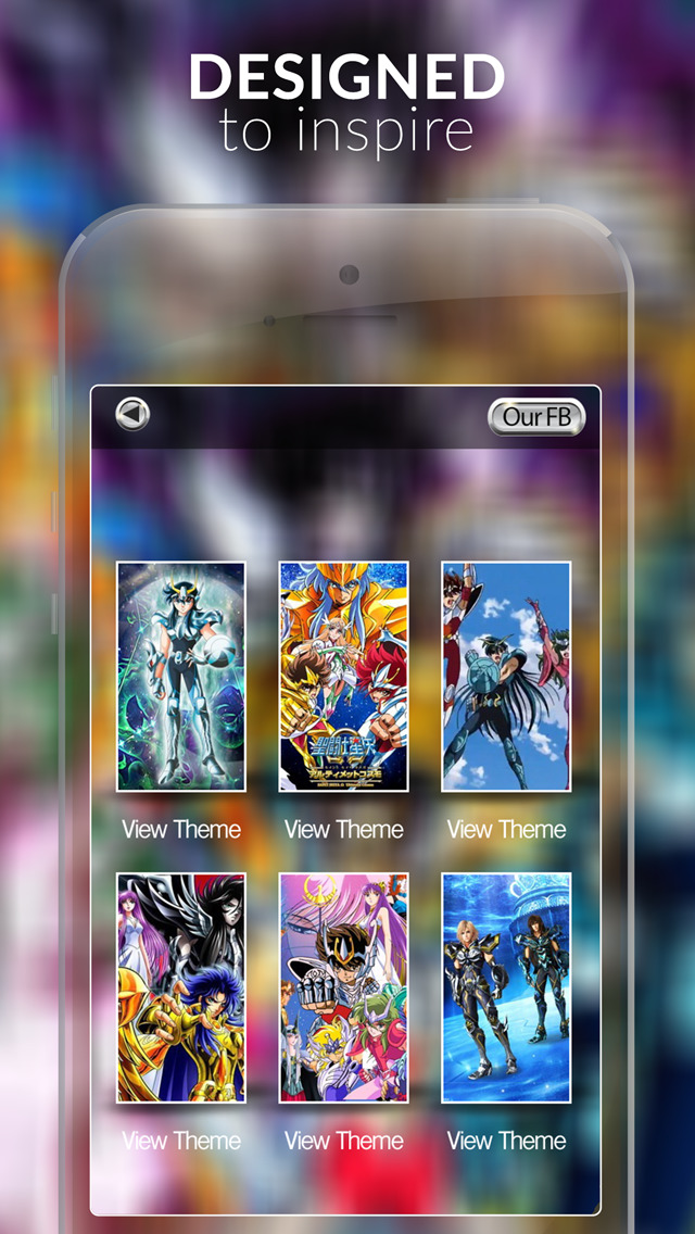 Manga & Anime Gallery : HD Wallpaper Themes and Backgrounds For Saint Seiya Edition