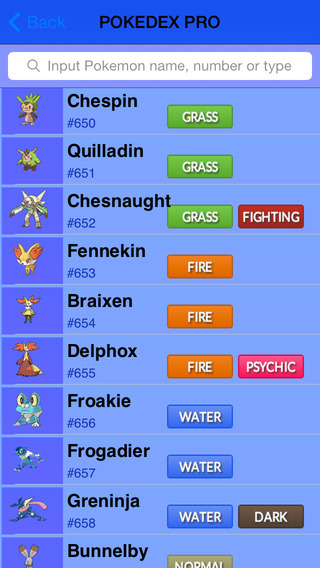 My Dex Complete - A Pokédex for All