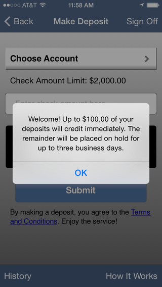 Members Choice CU Mobile Banking (Houston) iPhone Screenshot 2