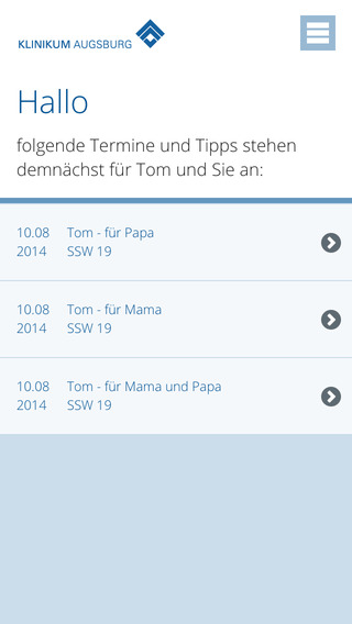 Baby App Augsburg