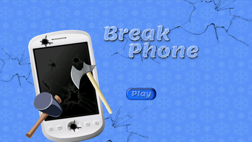 Toddler Break Phone