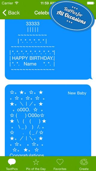 字符表情集:TextPics【冬天来卖萌】