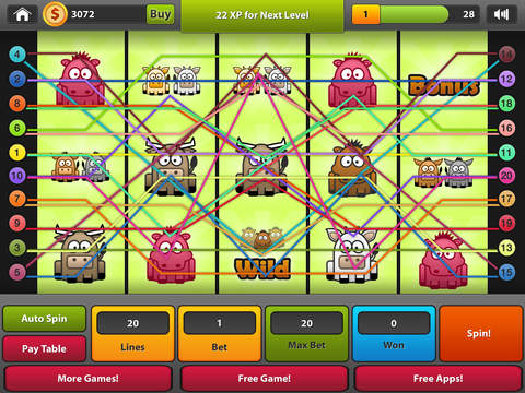 Party Slots Pro - Slot Machine With Spin The Wheel Bonus iPad Screenshot 3