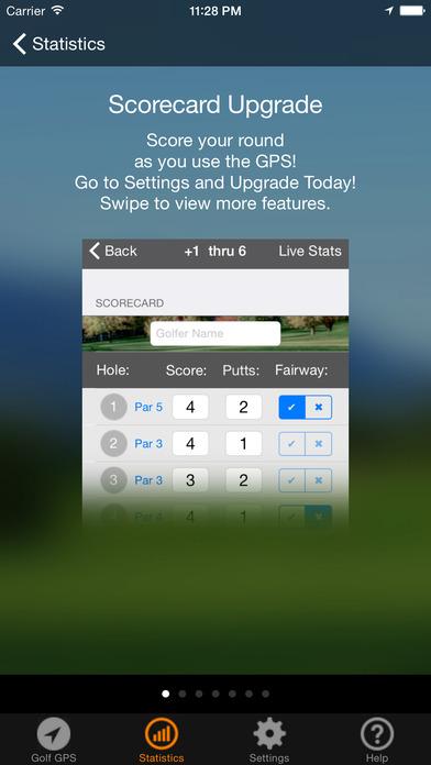The Golf GPS Navigator iPhone Screenshot 3