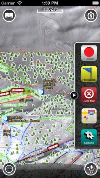 Sunday River GPS: Ski and Snowboard Trail Maps