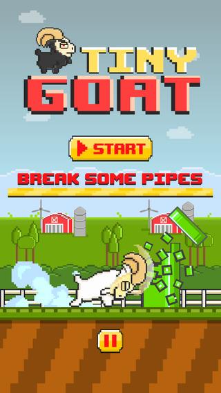 Tiny Goat FREE GAME - Quick Old-School 8-bit Pixel Art Retro Games