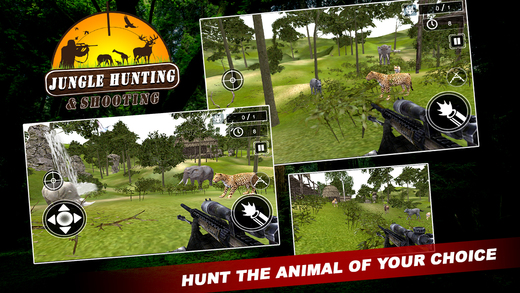Jungle Hunting And Shooting