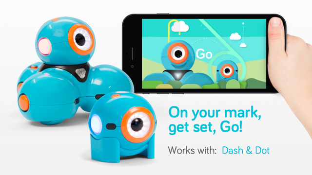 Go for Dash Dot robots - for iPhone