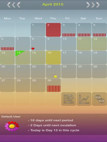 My Days - Period & Ovulation ™ screenshot