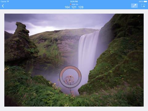 Optics - a beautiful pixel inspector color picker precision cropping