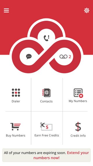 LoudCloud- Disposable Phone Numbers Free Credit for Calling and Texting