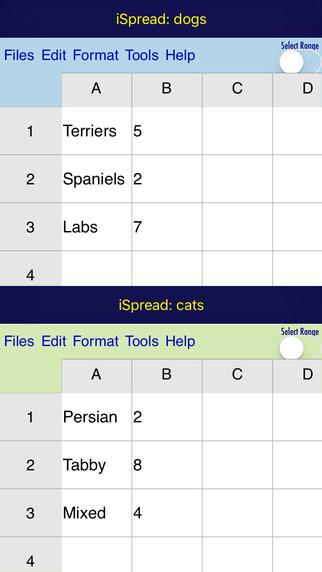 iSpread Screenshots