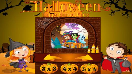Happy Halloween Puzzle Game